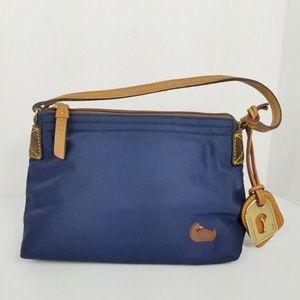 Dooney & Bourke Mini Nylon Porchette Handbag Navy